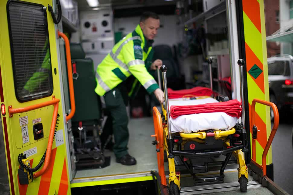 Study examines increase in calls to emergency services