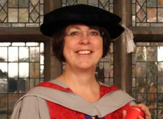 Dr Deborah Evans is awarded UWE Bristol Honorary Degree