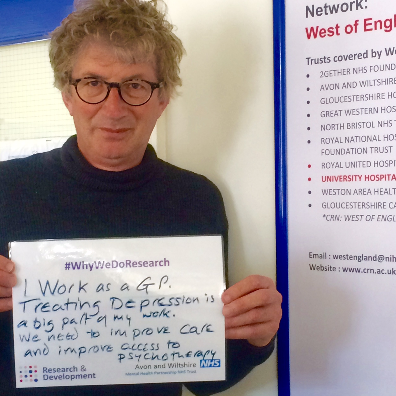 AWP celebrate #whywedoresearch during Clinical Trials Week