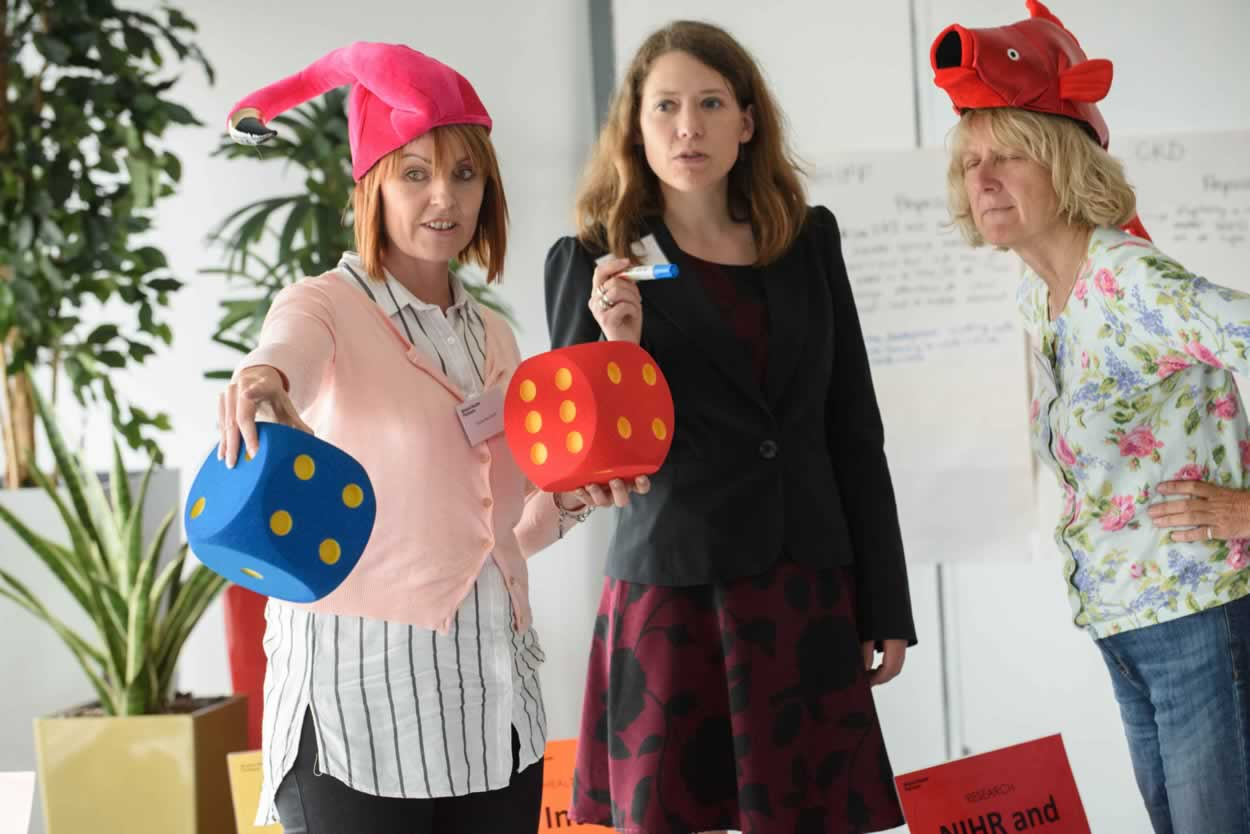 Challenging the HITs to collaborate in new ways with Bristol Health Partner-opoly