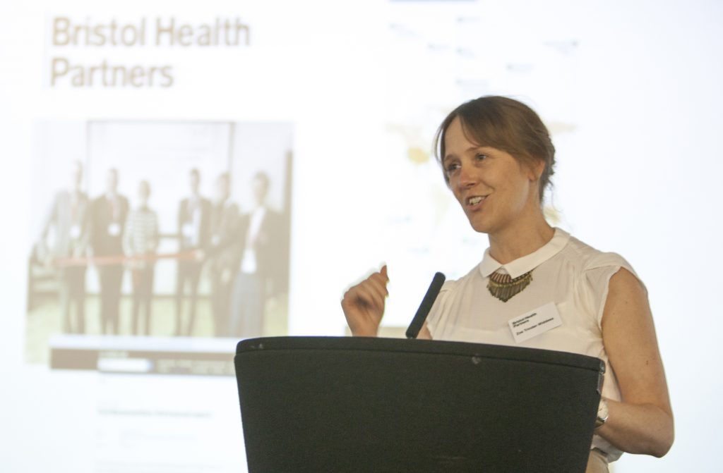 Zoe Trinder-Widdess bids farewell to her Communications Manager role at Bristol Health Partners