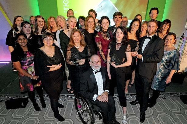 The winners of the Bristol Health and Care Awards 2017