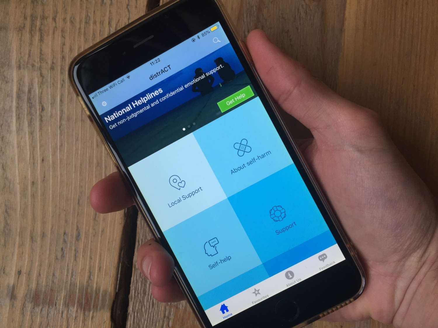 Bristol developed self-harm support and suicide prevention app gains place on NHS Apps Library