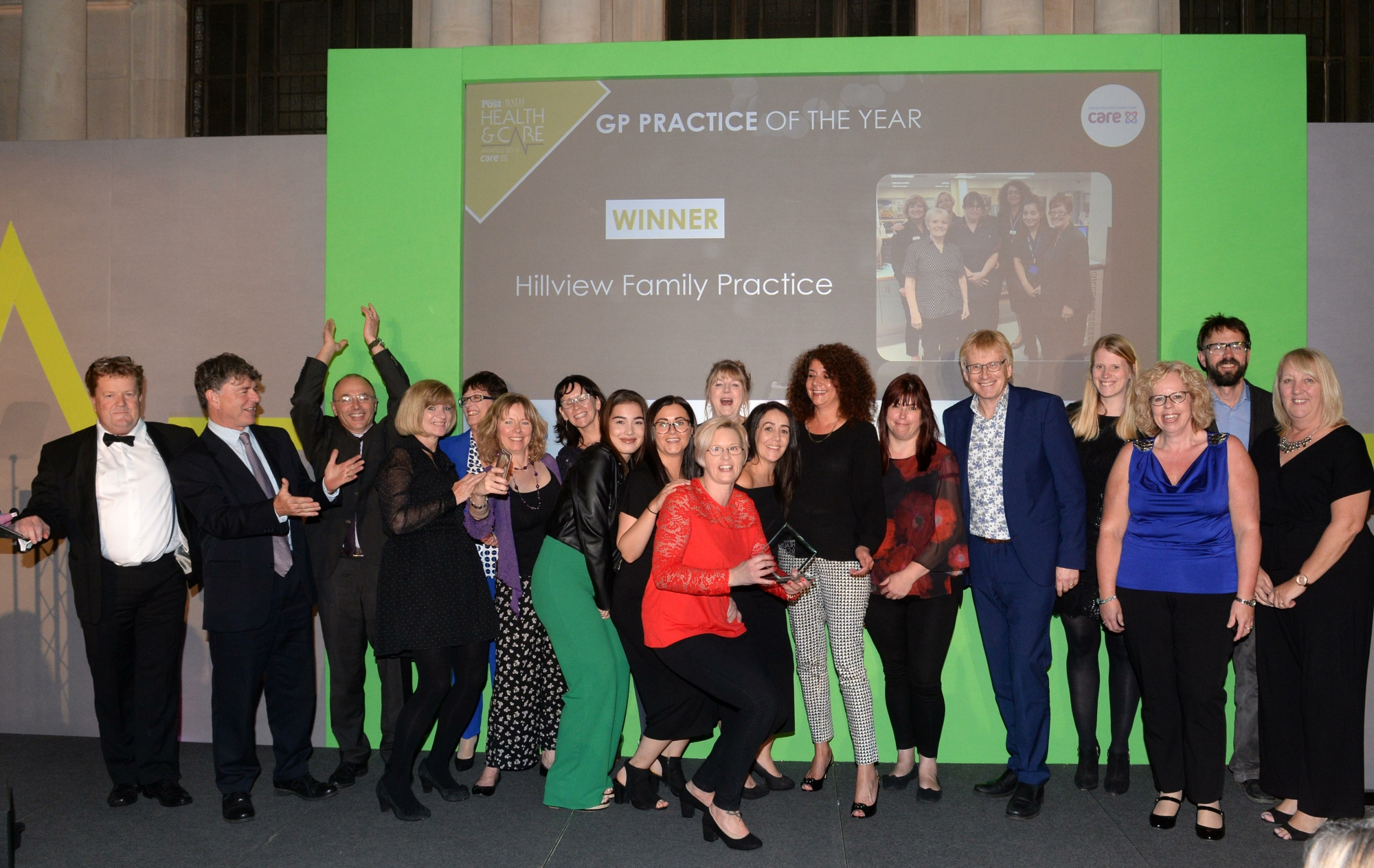 Hillview Practice wins GP Practice of the Year 2018